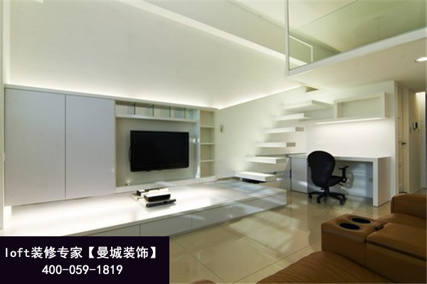 40平米loft旭辉U天地酒店式公寓装修也能装修出大宅范