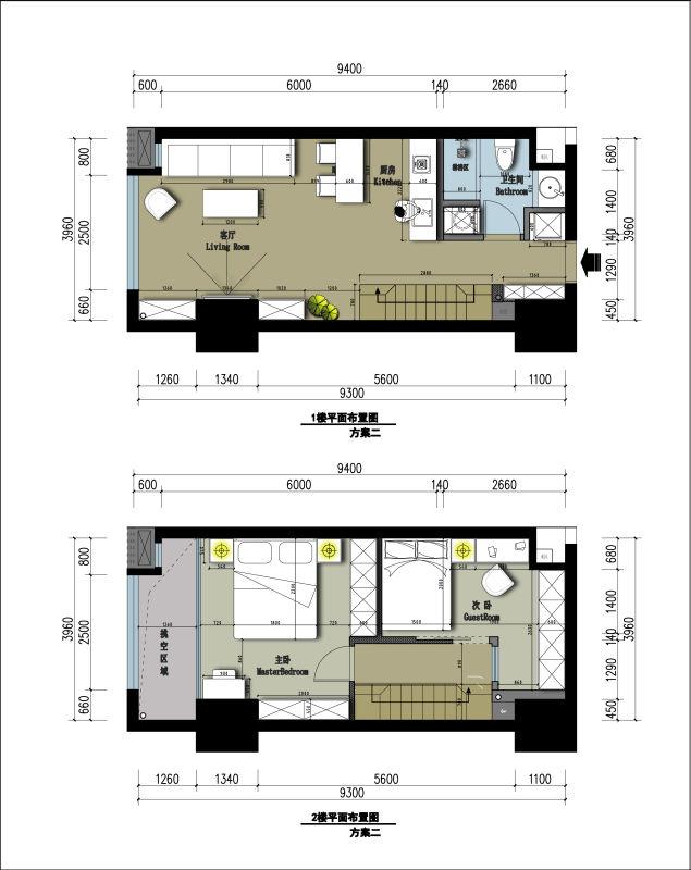 138平方房子设计图纸