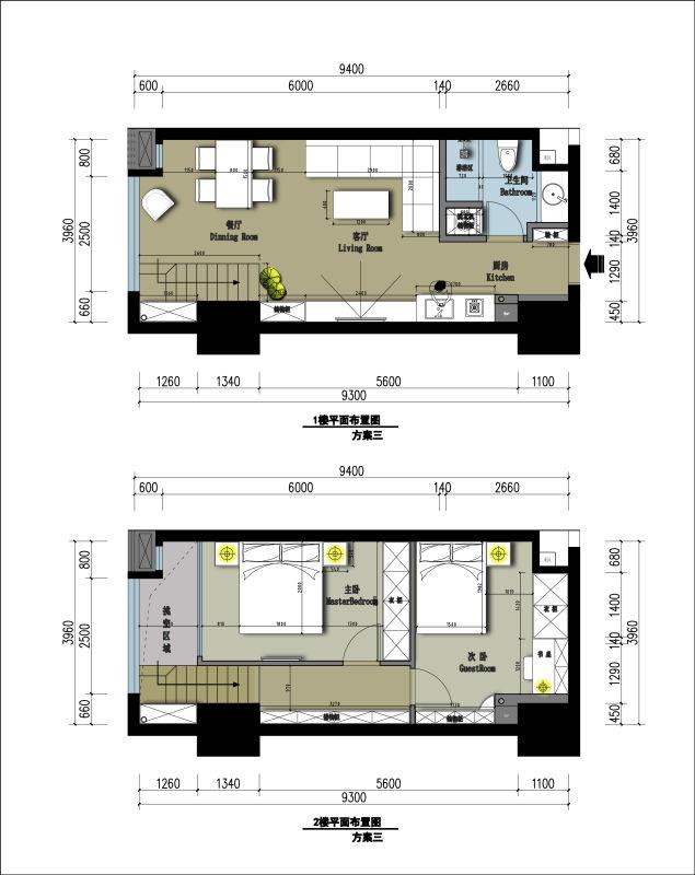 曼城在酒店式公寓设计已经有十来年的设计经验,一套不到五十平房的小房子,我们要出三套方案。哪怕是最简单的平面图纸,我们也以别墅的规格去绘制彩色平面方案图。让客户更直观去观察自己的平面布局。现在曼城的设计师都有上百套