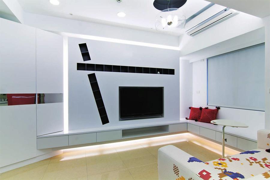 首页 曼城方案中心 酒店式公寓装修案例 loft装修风格中星海兰苑李
