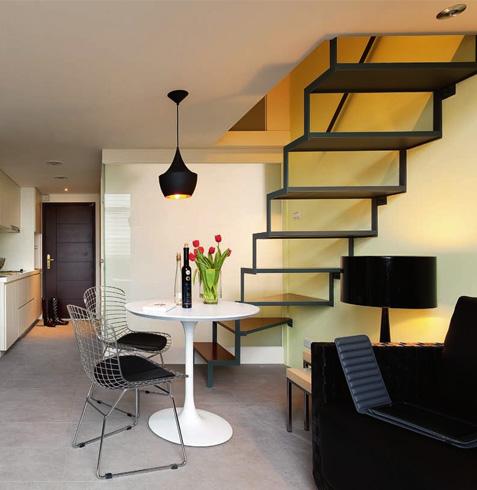 loft装修案例 - 曼城装饰:酒店式公寓loft装修第一